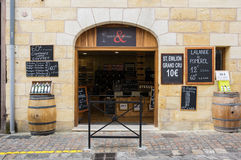 Wino sklep w świętym Fotografia Stock