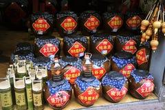 Wino w Chiny Obrazy Stock