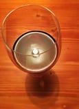 Wino w świetle Zdjęcie Royalty Free