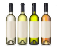 Wino zieleni butelka Obrazy Stock