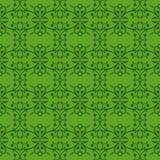 Winogradu liścia pączkowej zieleni abstrakta graficzny wzór Obraz Stock