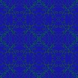 Winogradu liścia abstrakta zielonego wzoru graficzny kwiat Zdjęcia Stock
