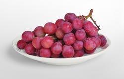 winogron purpur spodeczek Fotografia Royalty Free