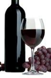 winogrona czerwone wino Obraz Royalty Free