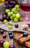 Smak wino Obrazy Stock