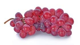 Winogrona odizolowywający dalej nad białym tłem Fotografia Royalty Free