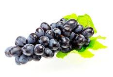 Winogrona odizolowywający na białym tle Zdjęcia Stock