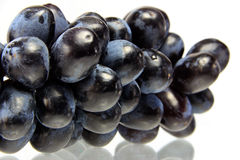 Winogrona odizolowywający na białym tle Fotografia Stock
