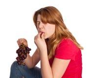 winogrona podśmietanie Obrazy Royalty Free