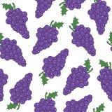 Winogrona tło Zdjęcia Royalty Free