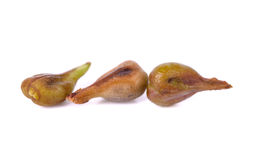 Winogrona ziarno odizolowywający na bielu z głębią pole Obrazy Royalty Free