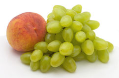 winogrono brzoskwinia Zdjęcie Stock