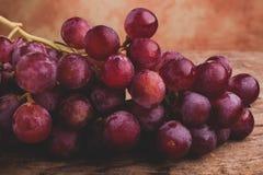 Winogrono czerwieni kula ziemska Fotografia Royalty Free