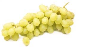 Winogrono na białym tle z selekcyjną ostrością Obraz Royalty Free