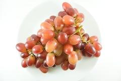 Winogrono na biały tle Zdjęcie Stock