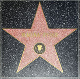 Winona Ryders-Stern auf Hollywood-Weg des Ruhmes lizenzfreies stockbild