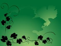 winorośl liść royalty ilustracja