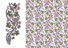 Winorośle royalty ilustracja