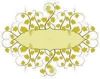winorośli ramowy royalty ilustracja