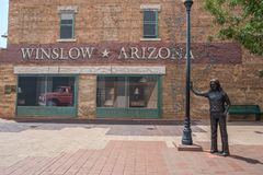 Winslow, Αριζόνα Στοκ φωτογραφία με δικαίωμα ελεύθερης χρήσης