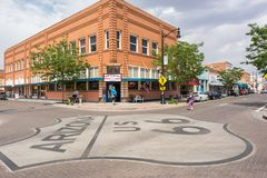 Winslow, Аризона Стоковые Фото