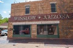 Winslow, Arizona Stock Afbeelding