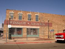 Winslow Arizona Ecke Lizenzfreie Stockfotos