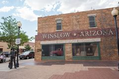 Winslow, Arizona. Royalty Free Stock Photos