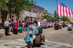 Winslow, Arizona/USA– May 19, 2016: Run For The Wall. Stock Photos