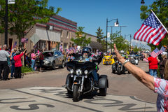 """Winslow, Arizona/USA†""""19 maggio 2016: Sia in corsa per la parete Immagine Stock Libera da Diritti"""