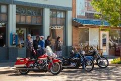 """Winslow, Arizona/USA†""""19 Mei, 2016: Looppas voor de Muur Royalty-vrije Stock Foto"""