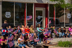 "Winslow, Arizona/USA†""am 19. Mai 2016: Laufen Sie für die Wand Stockfotos"