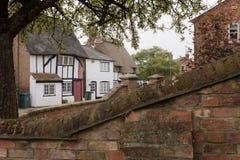 Winslow, Buckinghamshire, Regno Unito, il 25 ottobre 2016: Vista immagini stock libere da diritti