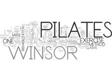 Winsor Pilates What Can It Do For Me Word Cloud. WINSOR PILATES WHAT CAN IT DO FOR ME TEXT WORD CLOUD CONCEPT Vector Illustration