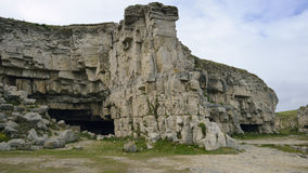 Winspit Quarry Stock Image