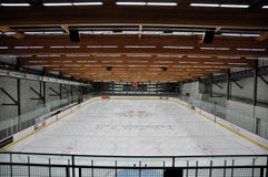 Winsport Ice Rink Stock Images
