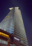 Winstin-Hotel von der niedrigen Winkelsicht (Nachtansicht ( Lizenzfreie Stockfotos