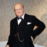 Winston Churchill. In wax at Madame Tussauds in Washington D.C Stock Photos
