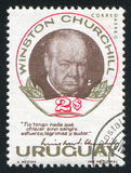 Winston Churchill fotografia stock