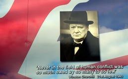 Winston Churchill, Belfast, Irlanda del Norte Fotos de archivo libres de regalías