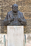 Winston Churchill Statue op Praag Stock Foto's