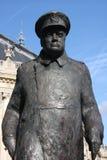 Winston Churchill. Statue of Winston Churchill in Paris Stock Images