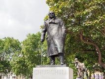 Winston Churchill Statue Royalty Free Stock Photos