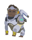 Blizzard Overwatch Winston Clipart Stock Images