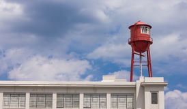 Winston Factory Lofts in Winston-Salem. NC.  Originally built in 1920 by the P. H. Hanes Company for textile manufacturing Royalty Free Stock Photos
