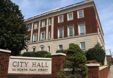 Winston-Salem City Hall Immagine Stock