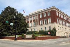Winston-Salem City Hall. City Hall in Winston-Salem, North Carolina stock photo
