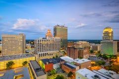Winston-Salem North Carolina, USA Royaltyfria Bilder