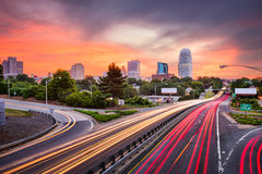 Winston-Salem, North Carolina. USA skyline Stock Photo
