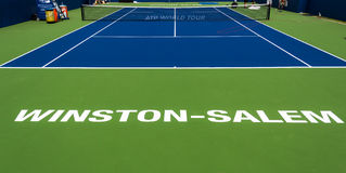Winston-Salem Open Center Court Royalty Free Stock Photography